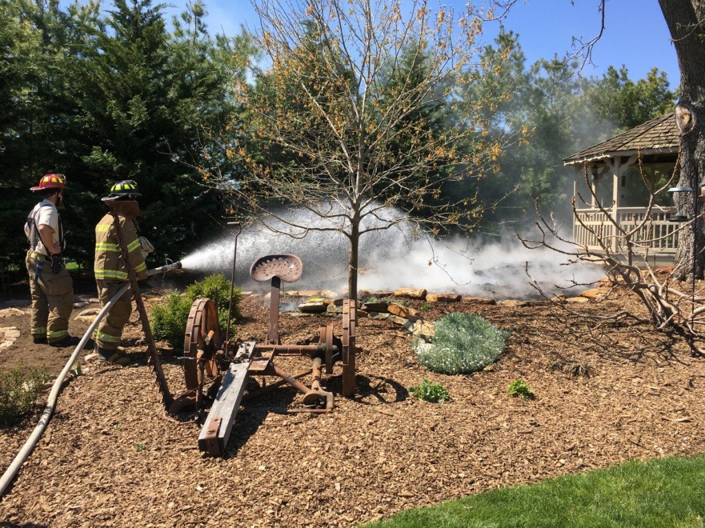 Brush/Mulch Fire