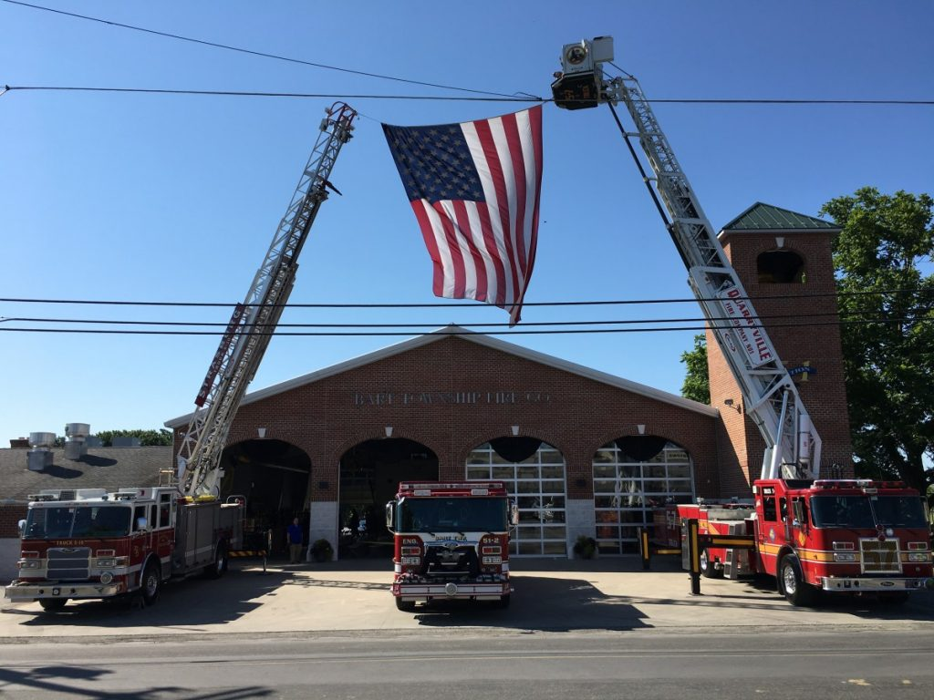 Funeral @ Bart Fire Company
